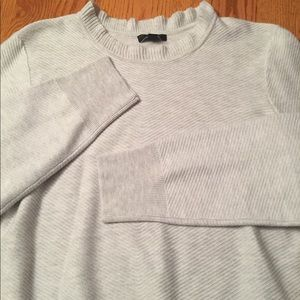 J Crew Sweaters J Crew Ruffle Neck Pullover Sweater Xl Nwot